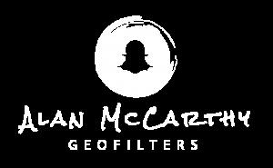 Alan McCarthy Geofilter Logo Snapchat